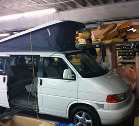 vanagon top repair