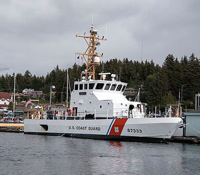 seat cover for uscgc adelie