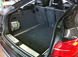 BMW X Cargo Compartment