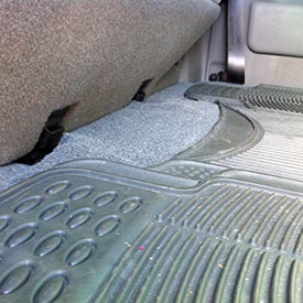 installing car carpet