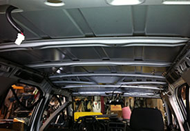 Completing Car Headliner Repair