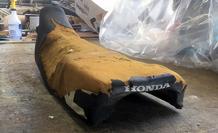new honda XL seat