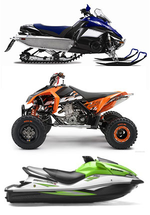 snowmobile, ATV & Jet Ski