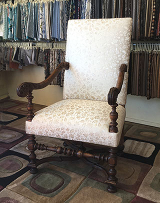 louis 14th chair upholstery