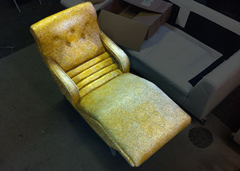 reupholster chaise longe
