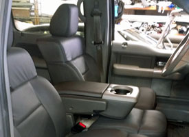 new leather upholstery